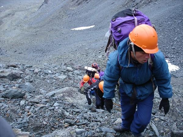 DSC03306 Подъём на перевал Рига-Турист