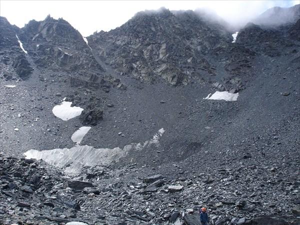 DSC03310 Вид на перевал Рига-Турист с севера