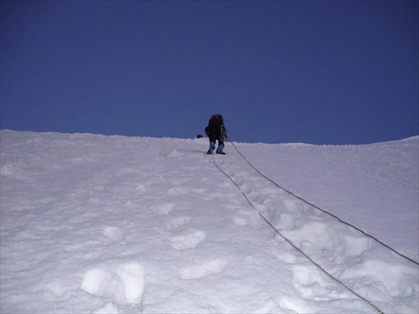 DSC03369 Подъём на перевал Белухинский