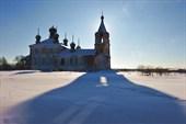 Деревня Река. Георгиевский храм. Фото Л.Гольдина