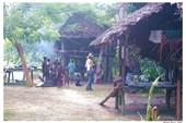 В папуасской деревне