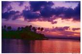 Закат на море Бисмарка