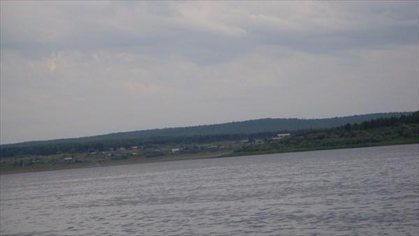 Вид на п.Подкаменная Тунгуска