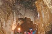 Впервые в пещере Октябрьская