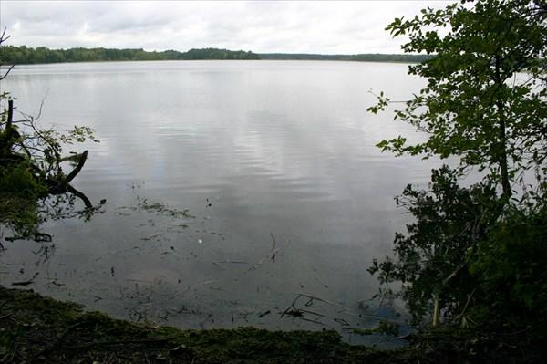 На берегу Виштынецкого озера