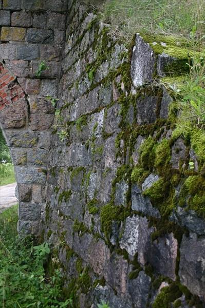 Немецкая кладка основания моста