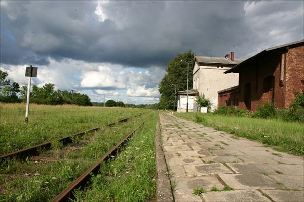 станция Планерское. Калининградская область.