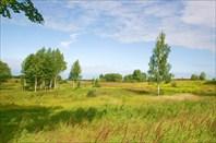 Пейзаж востока Калининградской области