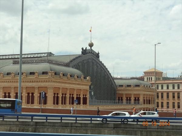 Вокзал Аточа.