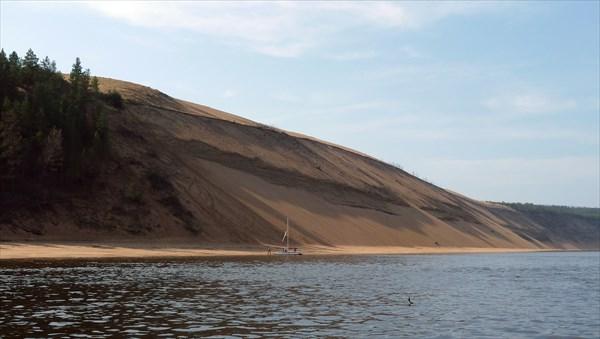Песчаные горы - тулаканы