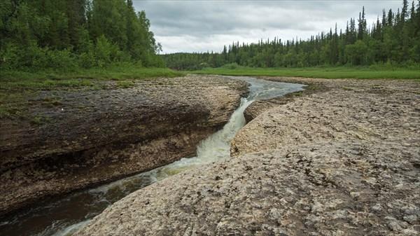 Водопад на Щучьей