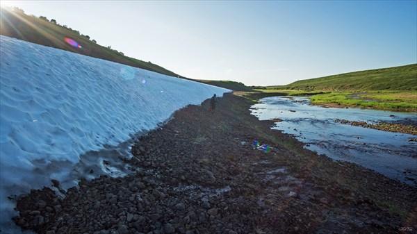Снежники по берегам Щучьей