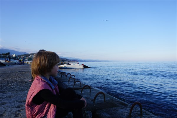 Мальчик и море - совсем не по Хемингуэйю