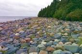 Суровый песок на пляже о.Тёйсянсари