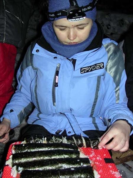 новогодние суши