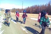 Лыжный поход)