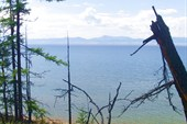 Берег озера Хубсугул