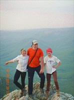 Паша,Лера,Наташа на вершине
