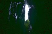 в пещере Дублянского