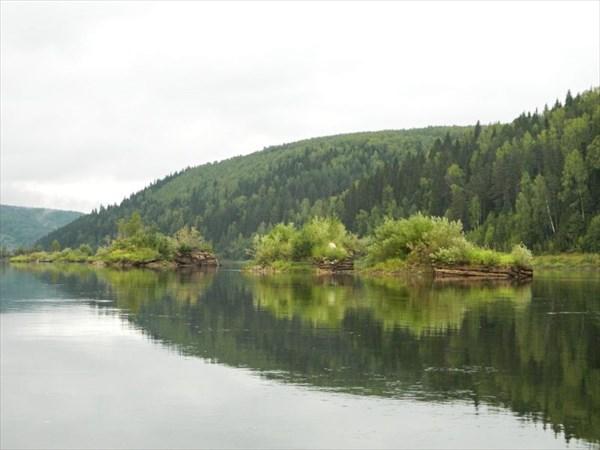 Островки для сортировки леса.