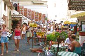 Город Амальфи. Торговая площадь