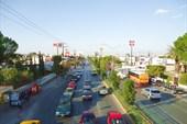 Городская дорога в Салтильо