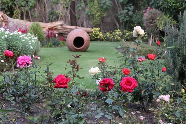 Сад в монастыре Санта Терезы
