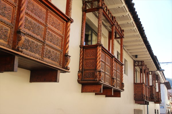 Балкончики из Юнеско