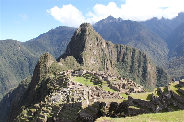 Классический вид на Мачу-Пикчу