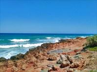 По дороге из Аналипси к пляжу Aposelemis