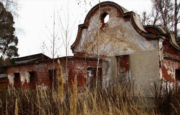Усадьба Степино. Бывшая электростанция.