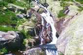 Водопад на ручье Малый Хунухузук