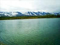 Река Собь у посёлка Полярный