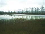 Озеро. Вдали Большой Пайпудынский хребет