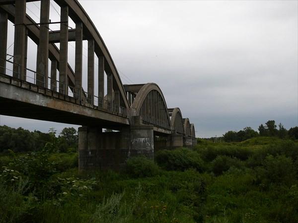 Ж/д мост через Клязьму