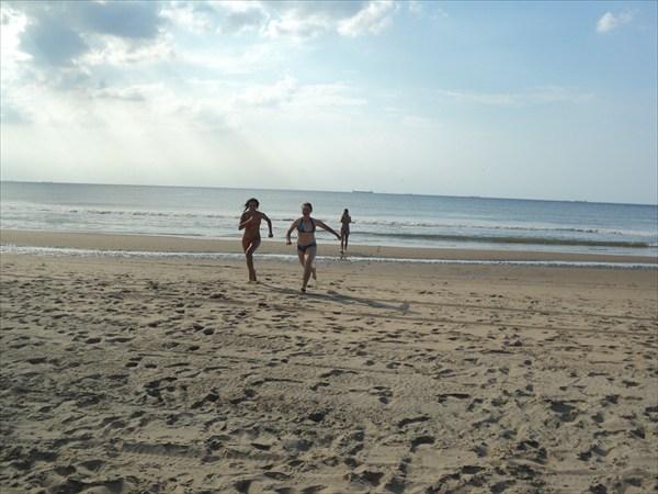 Гаага. Пляж