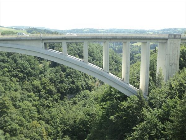 Мост через ущелье