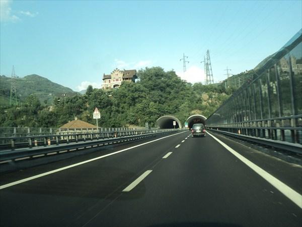 Автобан в Италии