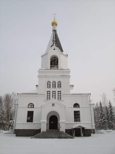 Православный храм в честь Всех святых