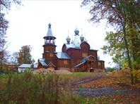 Успенская церковь-Успенская церковь в дер. Подборки