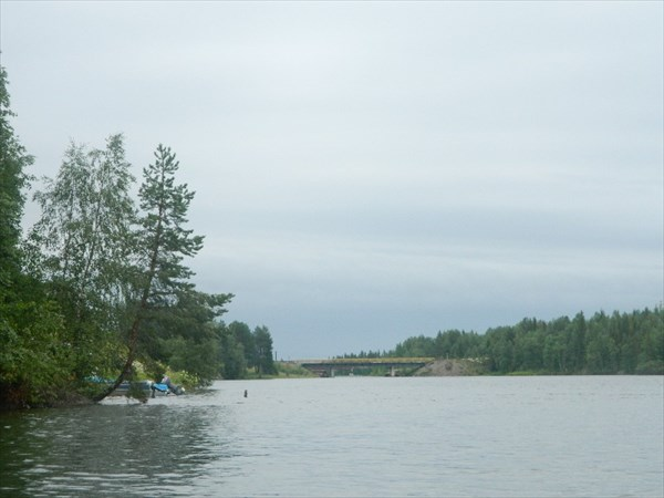 Софьянга, мост