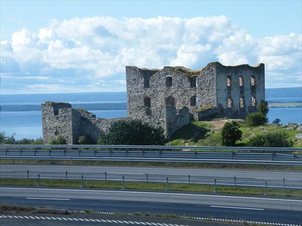 Развалины замка по пути в Мальмо
