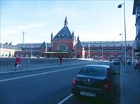 ЖД-вокзал в центре Копенгагена
