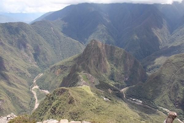 Мачу-Пикчу с горы Мачу-Пикчу)