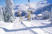 Улудаг, канатная дорога для подъёма в гору лыжников