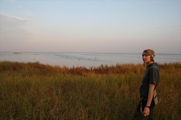 Вид на озеро Светлое