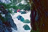 Лагерь, вид из входняка Самохвата
