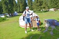 Соболь в горах Иссык-Куля