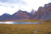 Озеро на перевале.