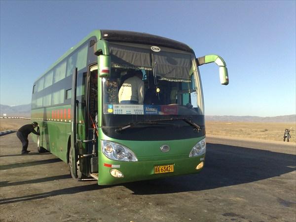 Наш спальный автобус.